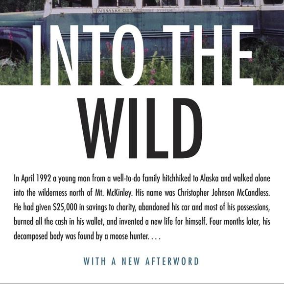 Into The Wild by Jon Krakauer (paperback)
